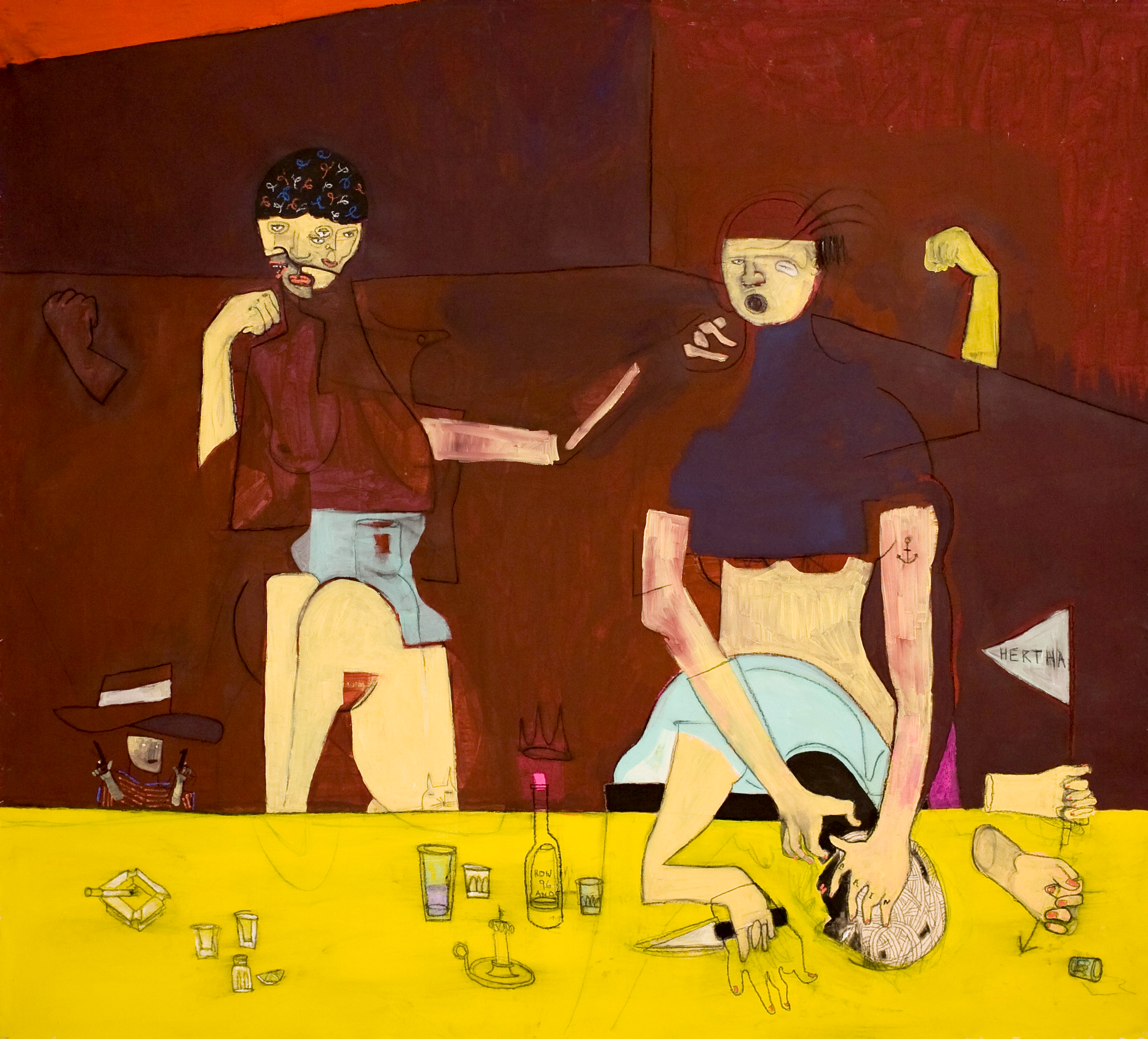 NOW WE ARE TALKING-170x160Cm-67x63In-AC-BERLIN-2013