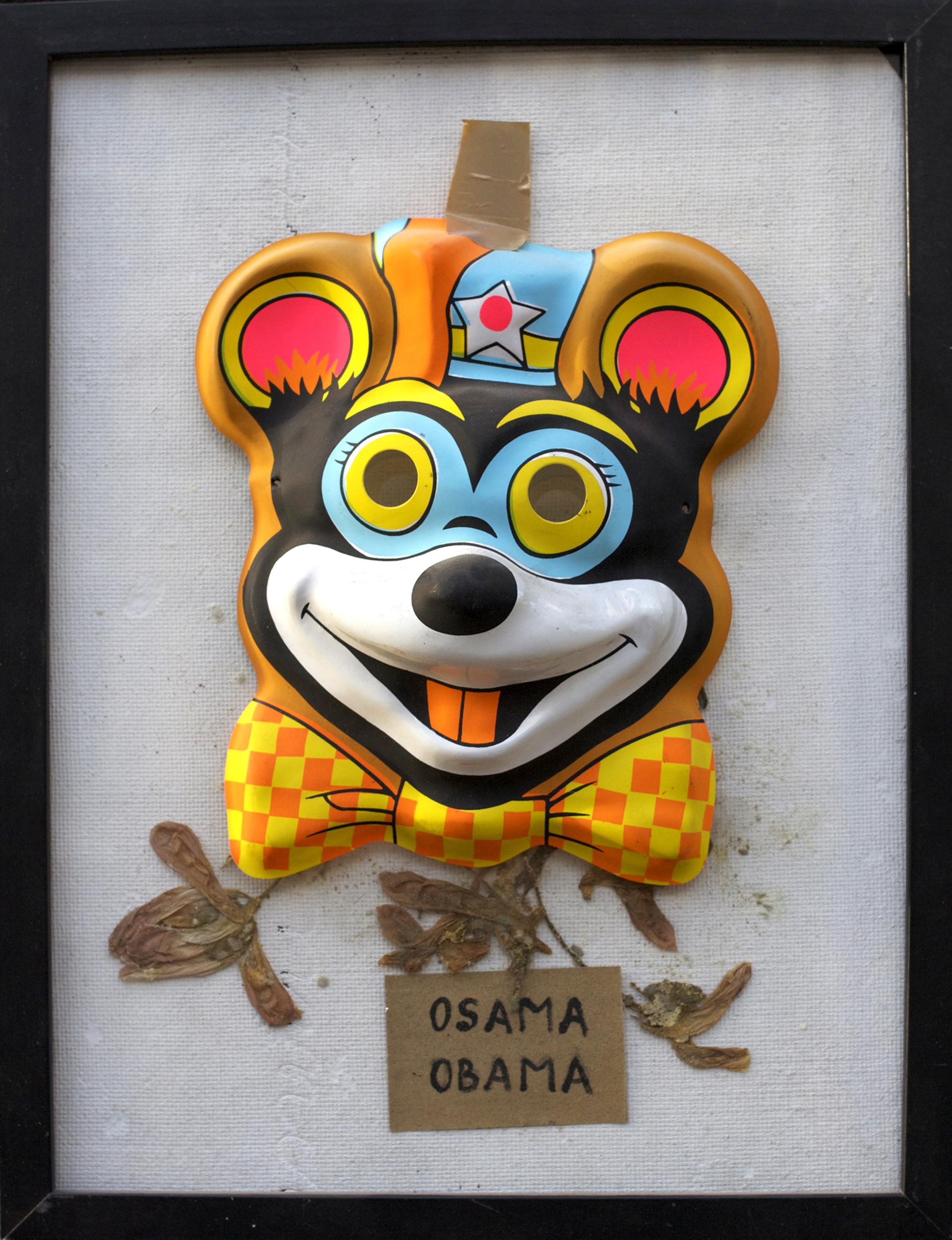 OSAMA NOT DEAD-32x42Cm-12.6x16.5In-MMC-BERLIN-2011