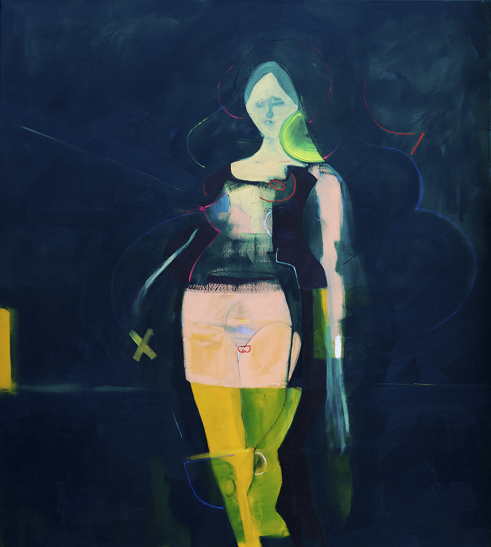PAINFUL FAMILY SECRETS-120x140Cm-47.2x55In-MMC-BERLIN-2011