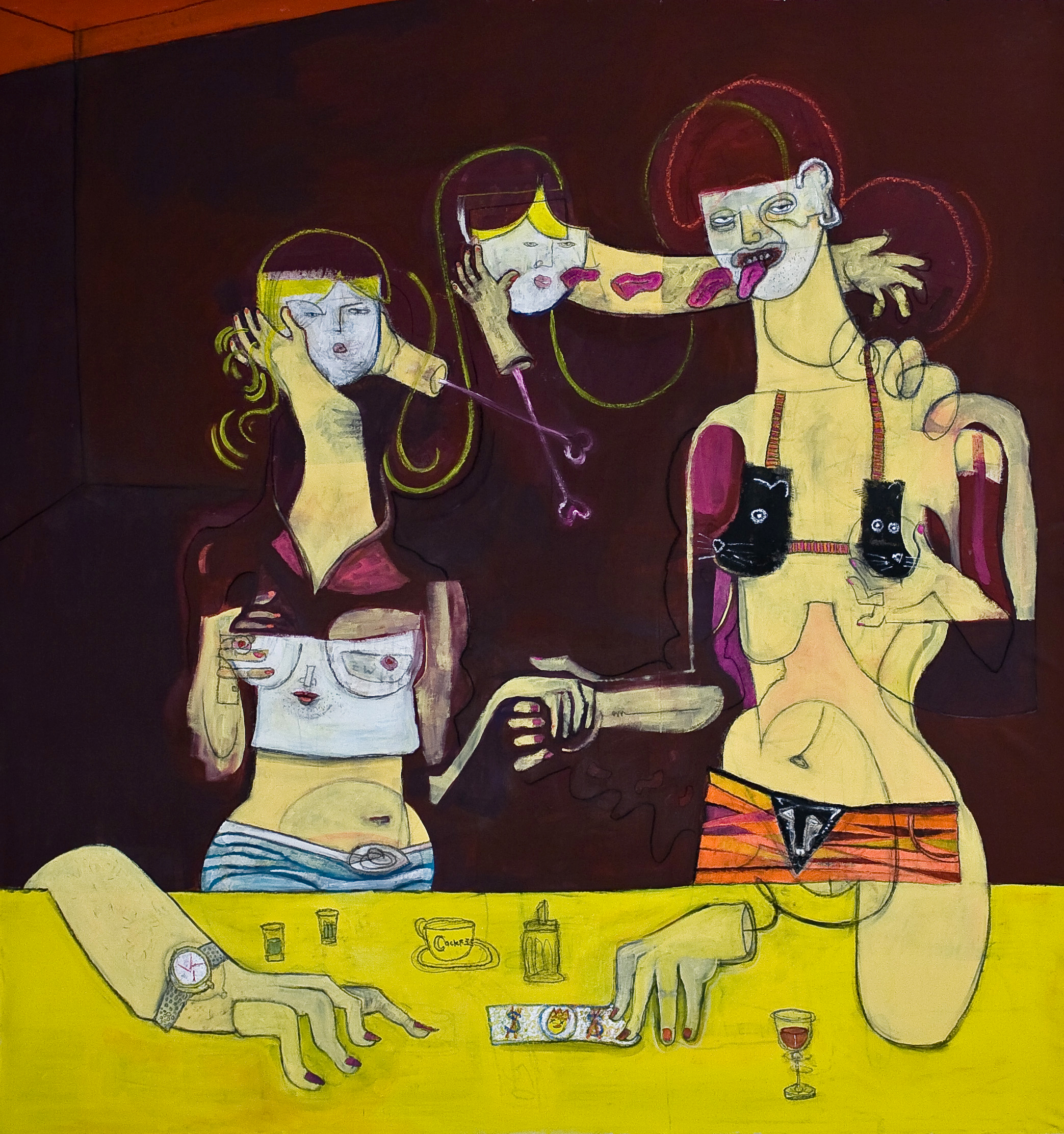 PRELUDE TO A KISS-150X160Cm-59x63In-AC-BERLIN-2013