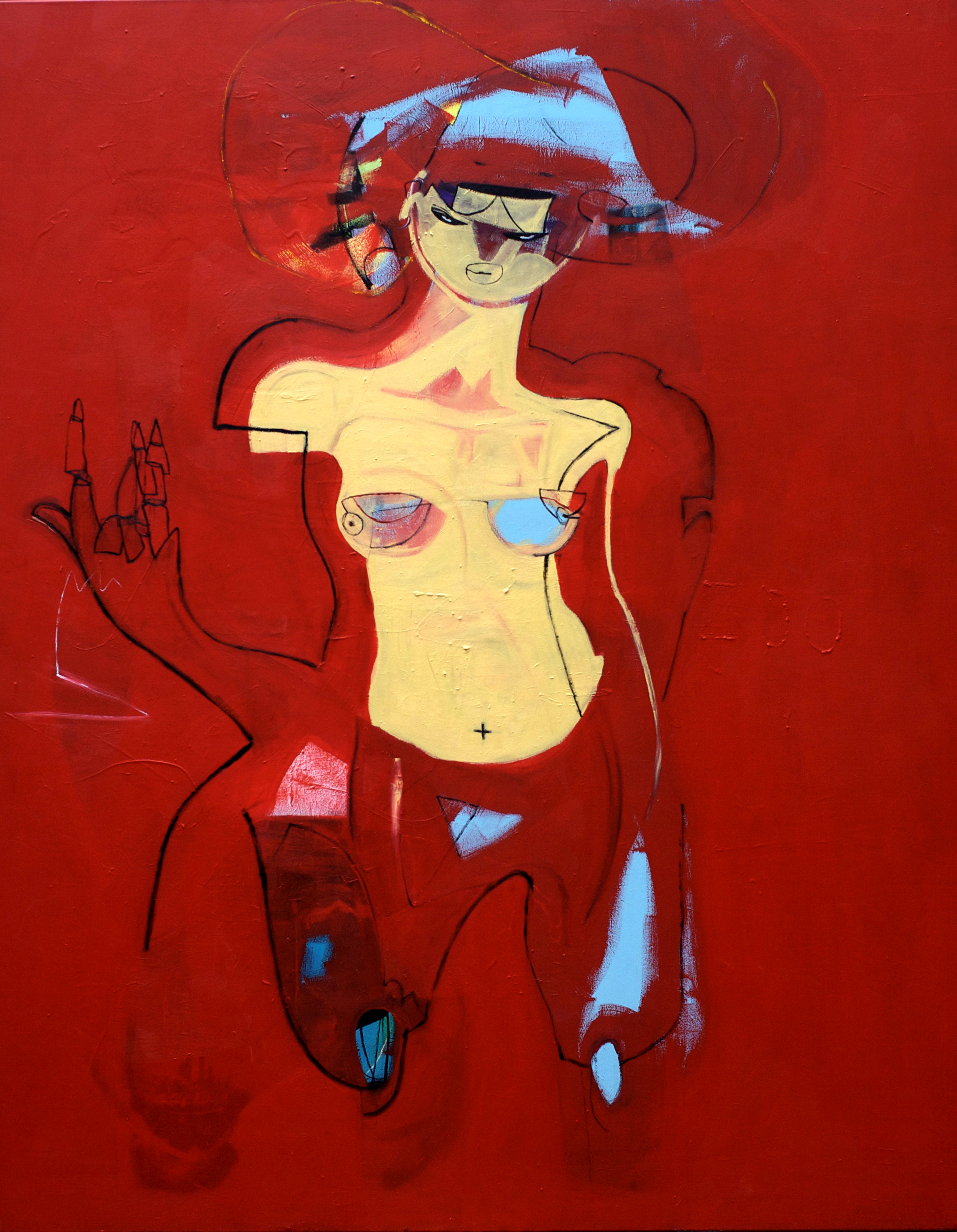 Rejecting Offer Of Dialogue-155x200Cm-61x78.7In-MMC-BERLIN-2011