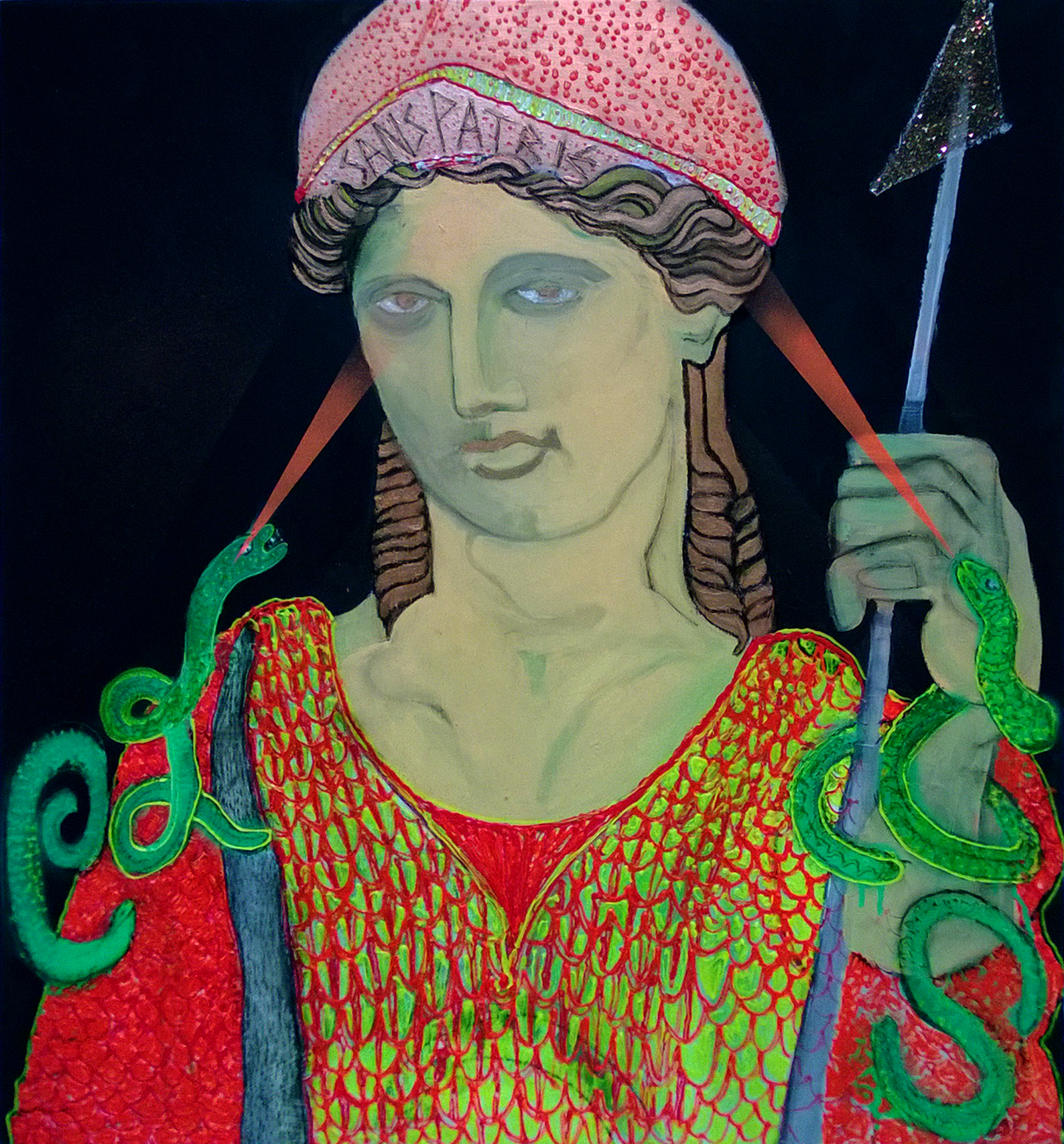 Study Of Athena-70x60Cm-27.5x23.6In-MMC-BERLIN-2013