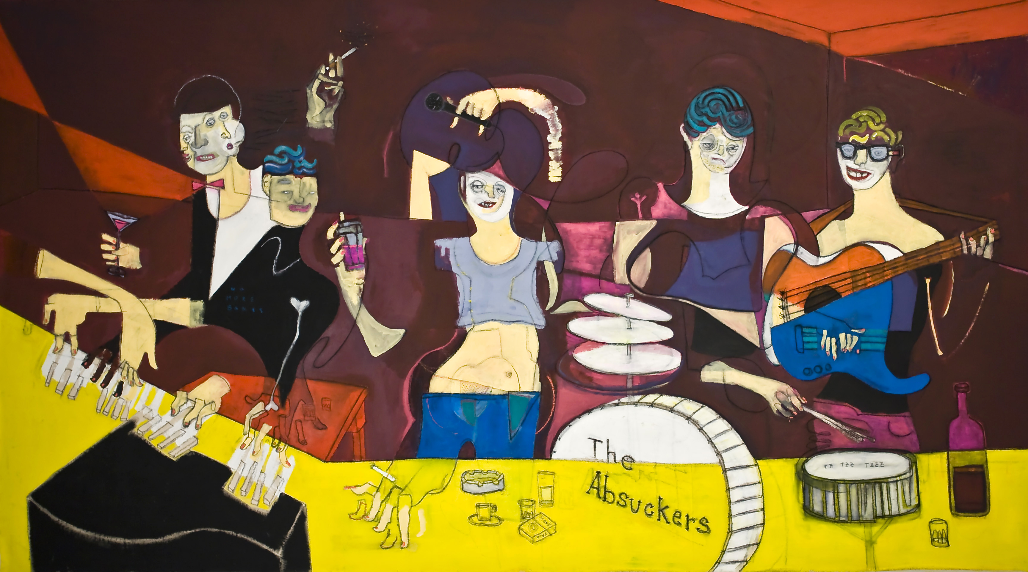 THE ABSUCKERS-285x160Cm-122.2x63In-AC-BERLIN-2013