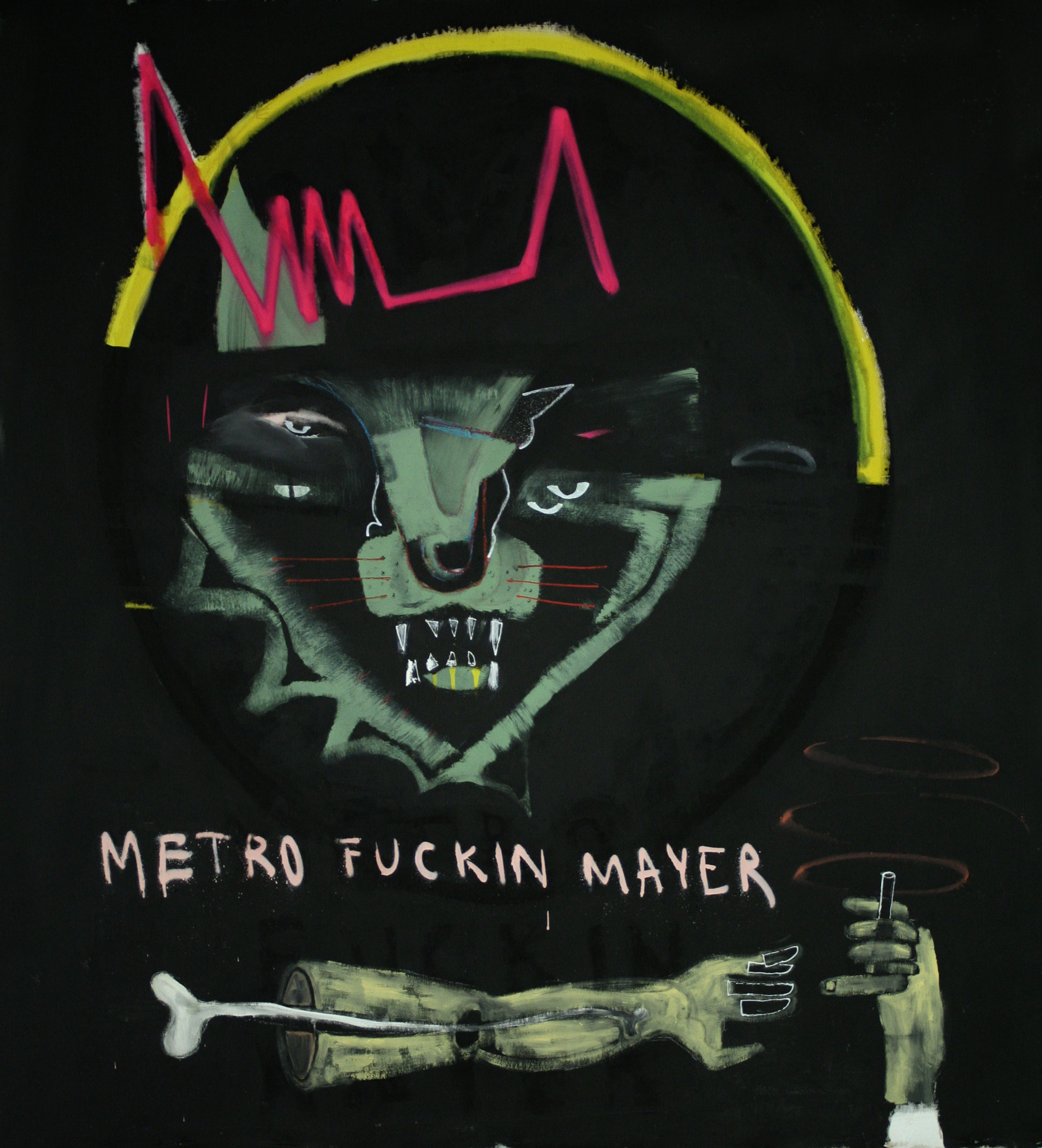 The Story Killers-160X160Cm-63x63In-MMC-BERLIN-2012